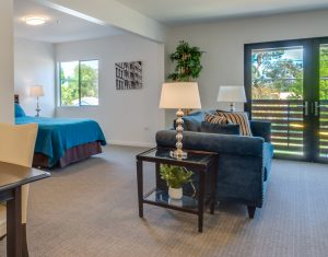 Senior living bedrooms