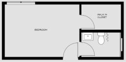 floorpan for bedroom 4