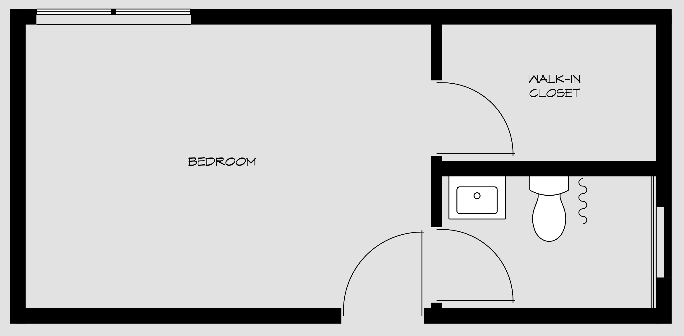 floorpan for bedroom 4
