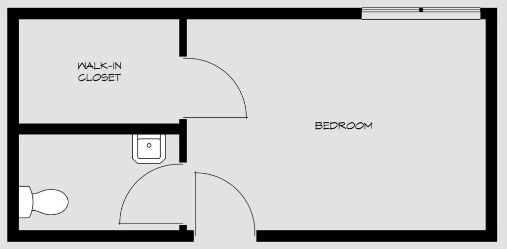 floorpan for bedroom 6