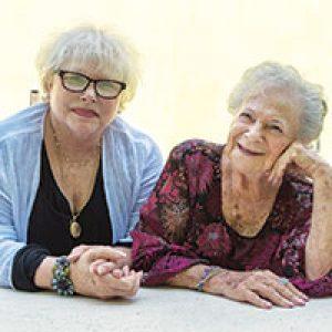 Senior living friends