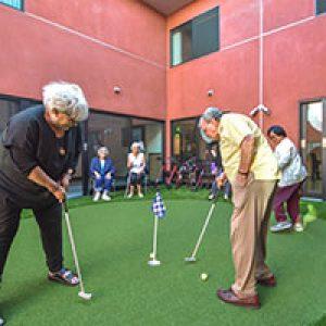 Miniture Golf Course